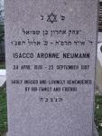 2D11 - Isacco Aronne Neumann