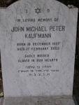 2D14 - John Michael Peter Kaufmann