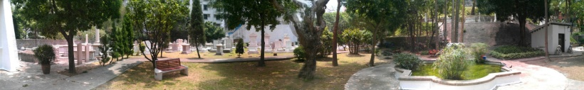 Cemetery Panorama 3 June 2011