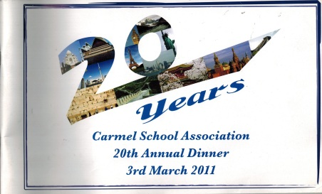 Carmel School Dinner 20 - March 2011