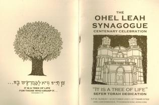 OLS Centenary 1 - October 2001